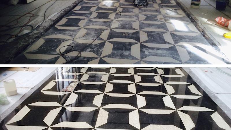 地板研磨晶化